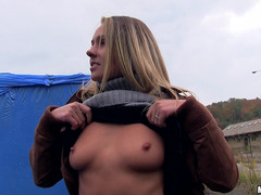 Cute Eurobabe Zuzana paid for fucking