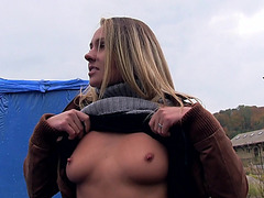 Pretty Eurobabe Zuzana banged for cash