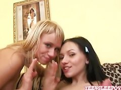 Ulia & Anita Dildo Lovers part 4