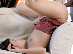 Beautiful Momoko fucked with black cock