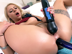 Cameron Canada Loves Huge Cock Inside her Hole