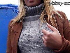 Eurobabe Zuzana banged with pervert dude