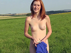 Amateur European babe Linda Sweet screwed up for money