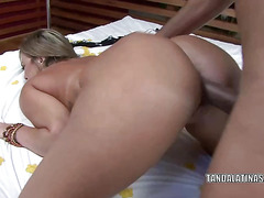 Alessandra Maia takes a dick in her hot ass