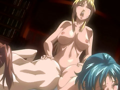 Hentai shemale with double dicks
