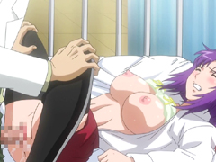 Busty hentai coed fingering and hot poking wetpussy