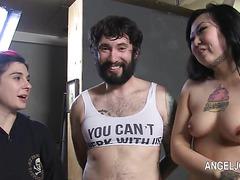 Hardcore loving with nasty punk princess Joanna Angel