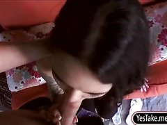 Lovely gf Kira Sinn analed and facialed