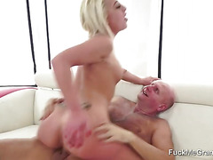 Blonde Fucked By Dirty Old Grandpa