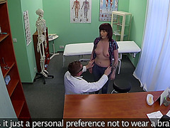 Nikki gets fucked by the doctor