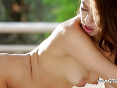 Beautiful girls licking and eat pussy snatches