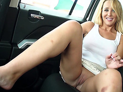Horny Tucker Starr needs ride after being dumped by boyfriend