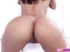 Naughty slut Abby Lee Brazil gets the buttfuck she deserve
