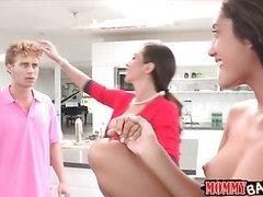 Ariella Ferrera sharing dick with Chloe