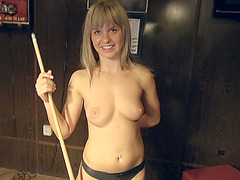 Mikayla exposes her tits in public and drops her panty down for cash