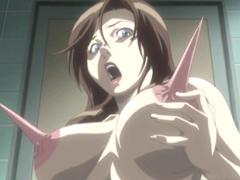Bounching tits hentai hard doggystyle fucking