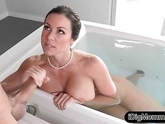 Milf Kendra Lust punished her stepson
