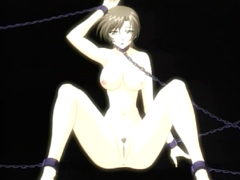 Chained Japanese hentai