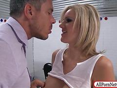 Busty prisoner Zoey Holiday anal pounded