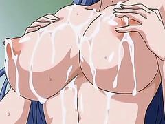Hentai babe tittyfucks