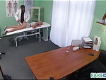 Doctor fucks the promotion girl