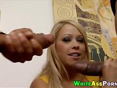 Big white girl Brooke Scott interracial