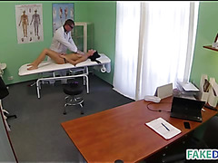 Doctor cures with his penis