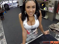 Huge titty latina wants cock