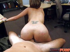 I fuck hot latina at work