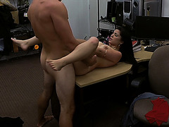Lovely Cuban chick gets fucked for some quick cash