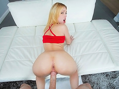 Teenie Lucy Tyler pounded by monstercock