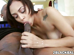 Cherry Hilson fucked by big black cock