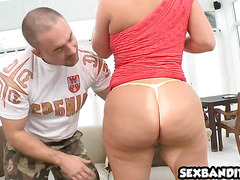 Big booty latina Julie Cash gets nice doggystyle 01