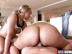 Two big ebony Asses In Public then fucked amazing doggystyle.7