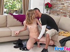Rachel James in her first sex tape