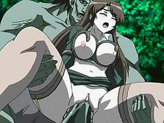Caught hentai girl
