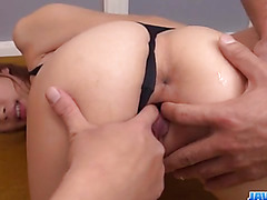 Curvy ass, Nami Itoshino, is ready for a wild threesome