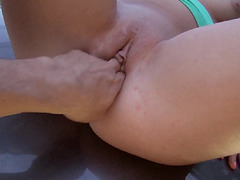 Hungarian girl got fucked at the countryside
