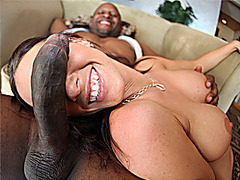 Jennifer Dark likes black cock