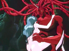 Hentai girl with bigtits hot red monster fucked