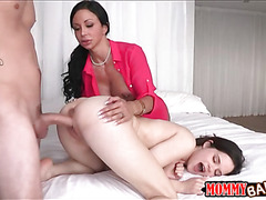 Jewels Jade n Jenna Ross fucked on turns