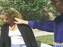 Naughty Jeanie Rivers sucking boss big shlong