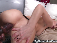 White ass fucked by bbc