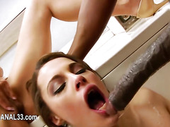 deep ass fun with sexy dildo