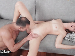 Blonde student banged by her teacher