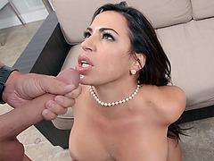 Horny hottie Julianna Vega loves it big