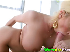 Busty milf Summer Brielle slammed real hard by big cock