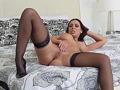 Lovely babes Rachel Starr loves to fuck hard