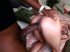 Sindy Wanted A Huge Cock For Her Mouth And Pussy