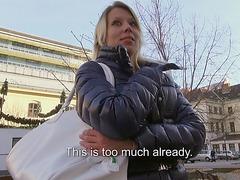 Amateur slut Adrienne banged n creampied